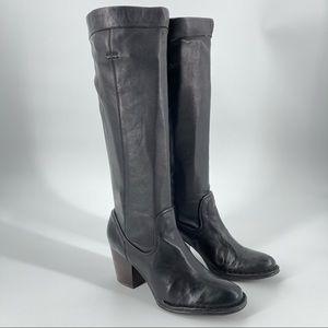 FRYE Rory Scrunch Black Women Boots